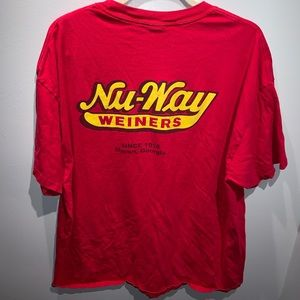 Nu-way weiners  shirt 2xl